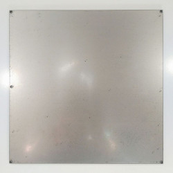 Steel plate for silicone base