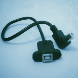 USB B extension cable