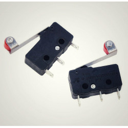 Endstop switch with lever
